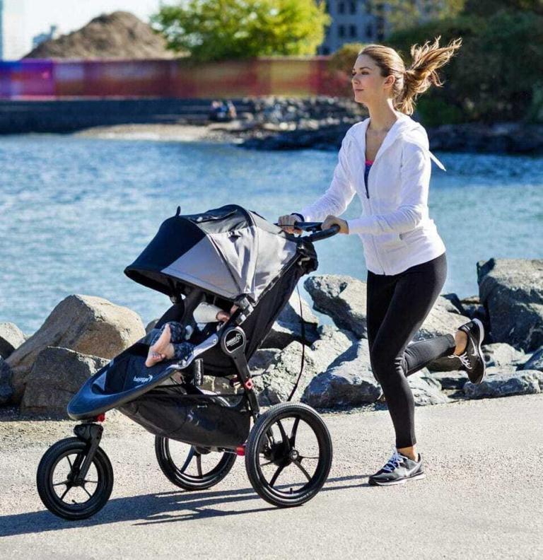 La mejor silla de paseo para correr con tu bebé