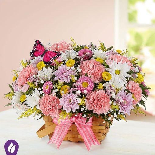 Blossoming Blooms Basket by 1800flowers