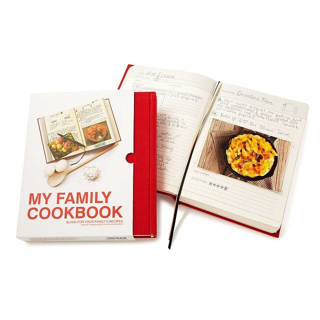 My Family Cookbook from Uncommon goods