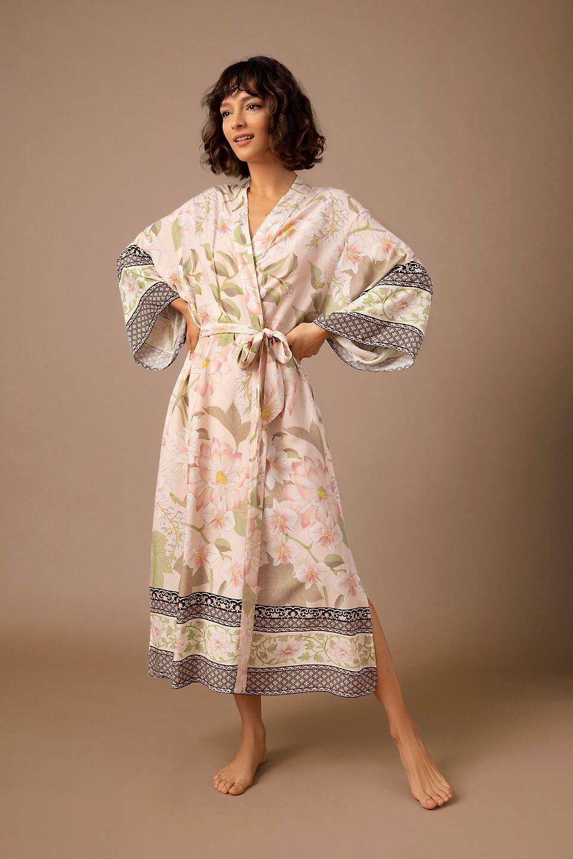 Homebodii Poppins Kimono Robe from Anthropologie