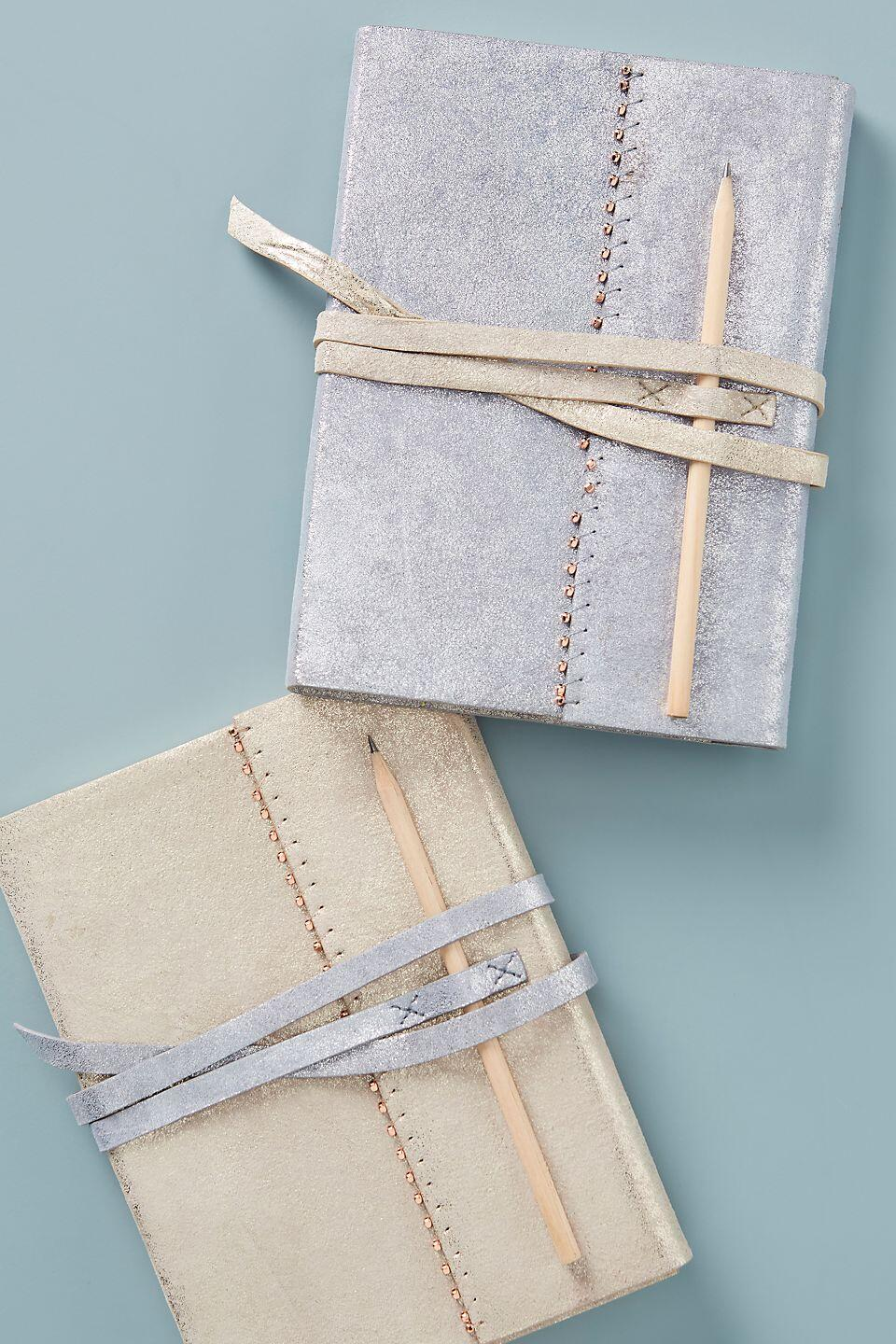 Katine Leather Journal by Anthropologie