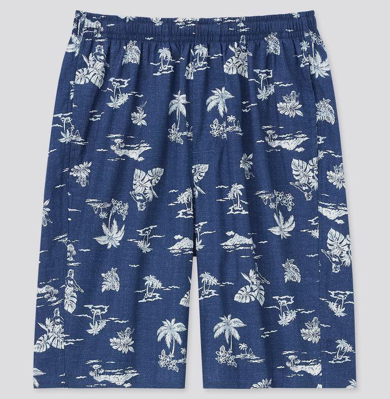 Uniqlo Men Light Cotton Easy Shorts