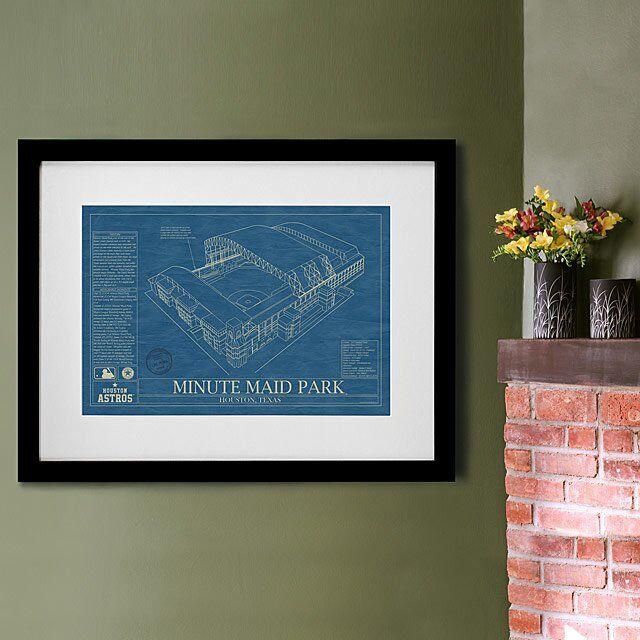 Baseball Stadium Blueprints