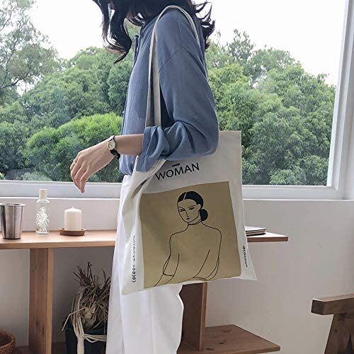anaan Woman Bolsa al hombro 100% algodón