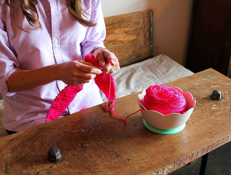 Yarn Valet Yarn Bowl