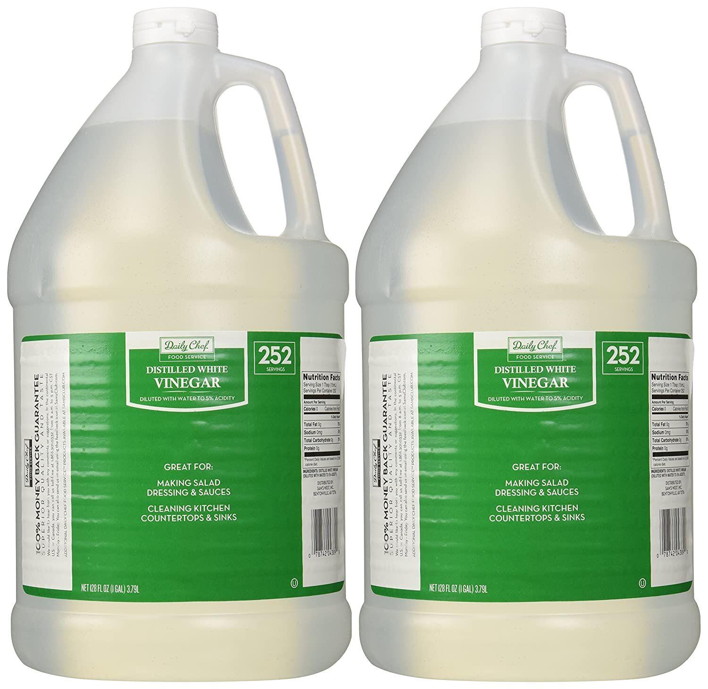 Daily Chef Distilled White Vinegar 2/1 gallon jugs