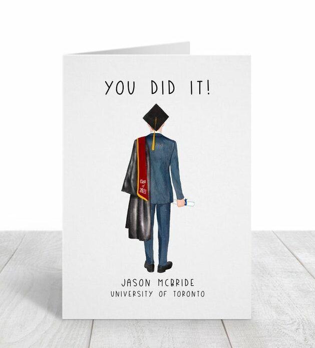 Custom Graduation Card