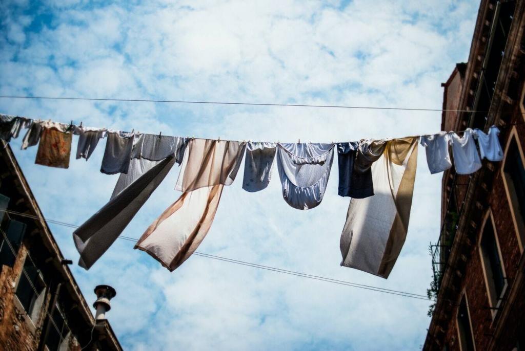 Cómo desinfectar la ropa sucia