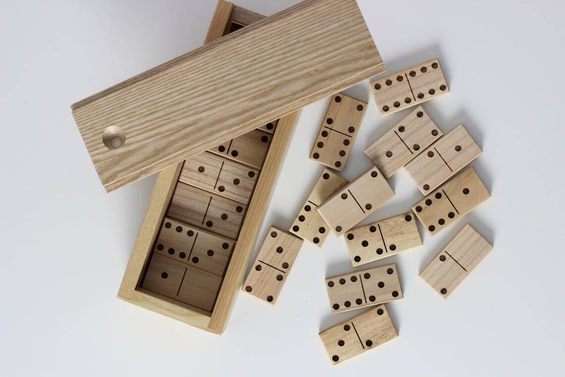 Wooden Dominos Set