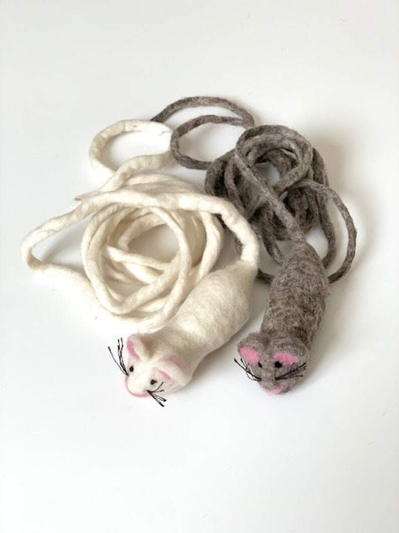 Wool Mouse Toy