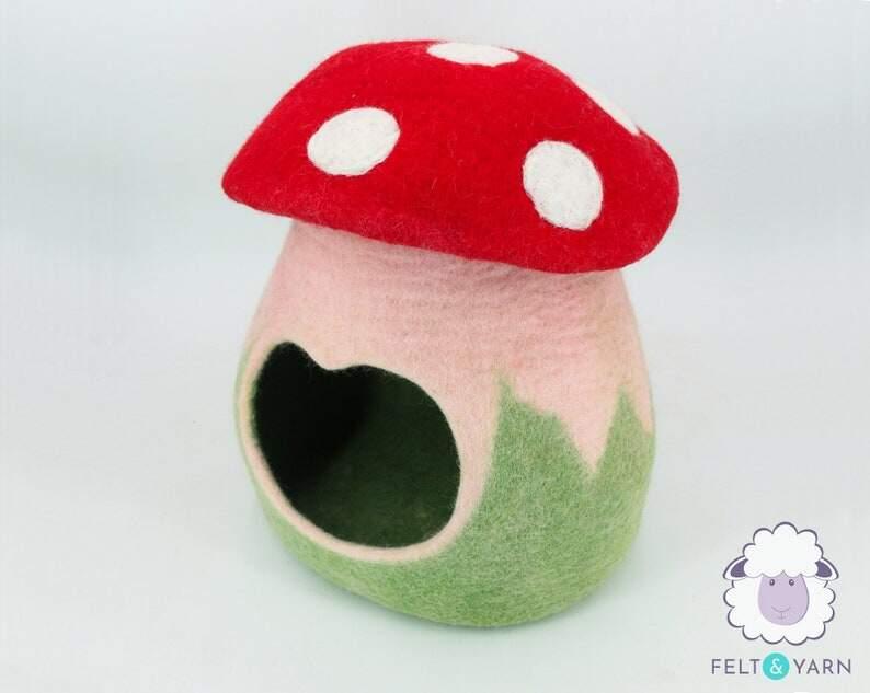Mushroom Cat Cave