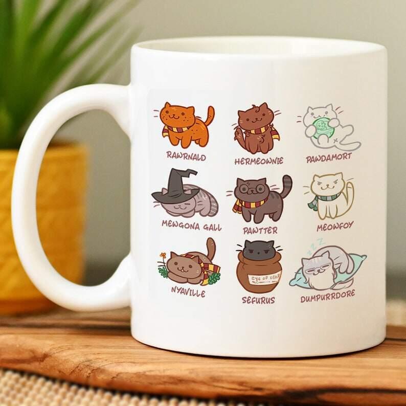 Harry Potter Kitten Mug